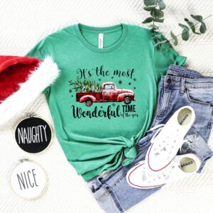 It Is The Most Wonderful Time Of Year Christmas Shirt
