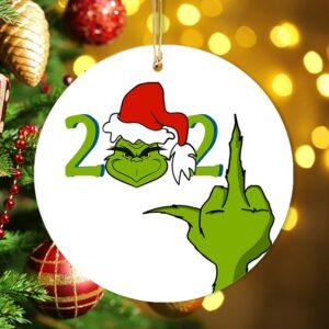 The Grinch 2021 Christmas Stink Stank Stunk Ornament